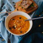 Κλασική βελουτέ σούπα κολοκύθας