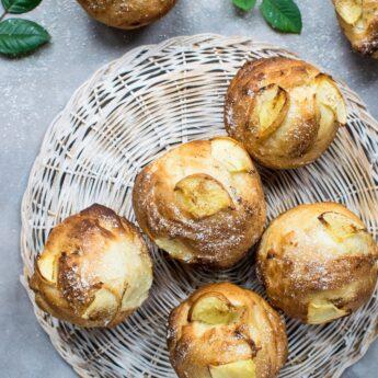 Muffins (Μάφινς) μήλο χωρίς γλουτένη