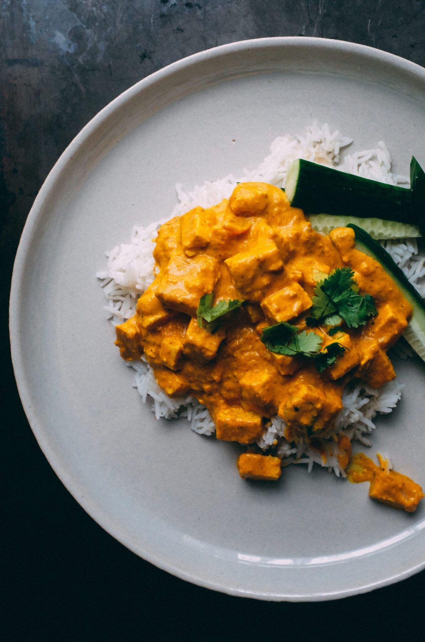 Ινδικό butter chicken (κοτόπουλο με σάλτσα μπαχαρικών)