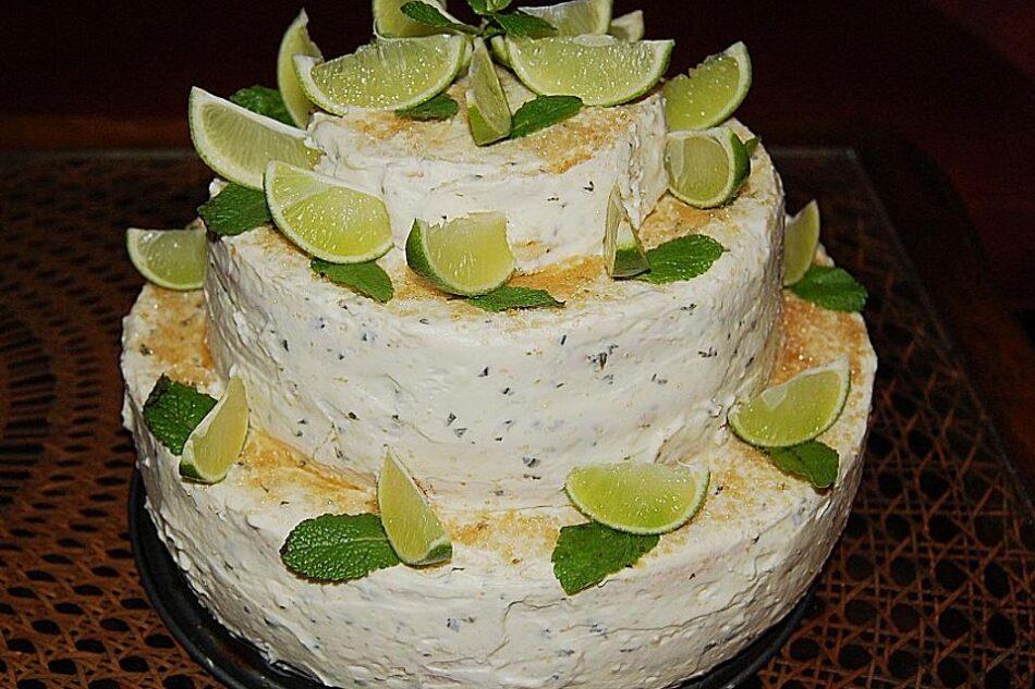 Κουβανέζικη τούρτα Μοχίτο (Mojito)