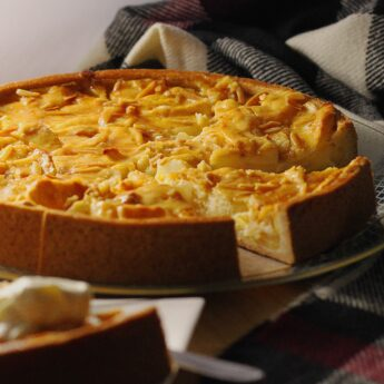 Cheesecake μηλόπιτα