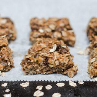Μπισκότα πρωινού με βρώμη χωρίς ζάχαρη