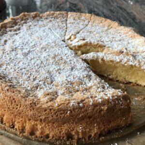 Κέικ αμύγδαλο από Ισπανία χωρίς αλεύρι