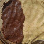 Μπισκότα μπάλες παγωτού με ταχίνι καρύδια και κακάο
